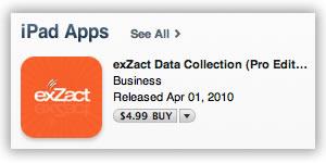 exZact for iPad