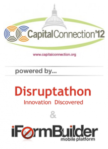 Disruptathon and iFormBuilder power Captial Connection 2012