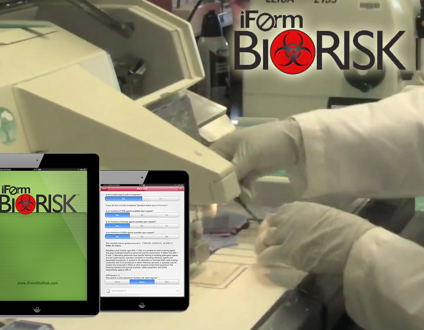 iFormBuilder BioRisk apps for iPad and Android Devices allow technicians at Emory University keep their labs and university facilities safe