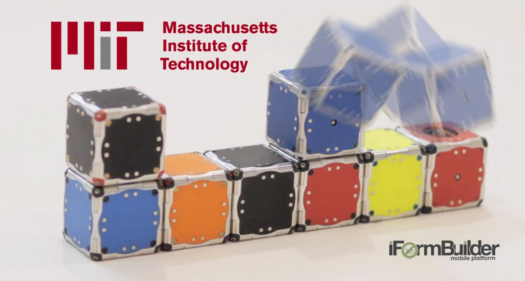 MIT Robots Build Themselves, and iFormBuilder Digs That!