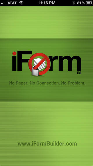 iForm ES available on iTunes Mobile Apps for iPad and iPhone