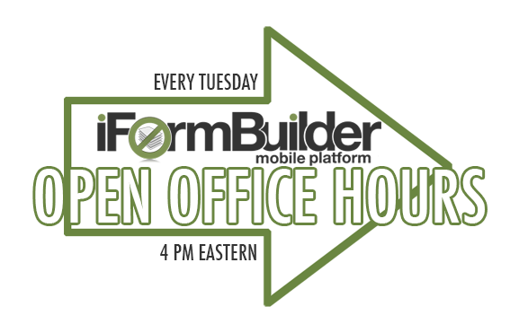 Open office hours at iFormBuilder
