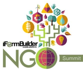 NGO Summit with iFormBuilder mobile Apps