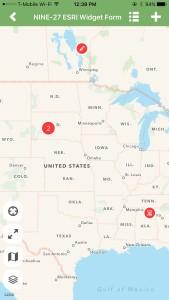 iFormBuilder Release 8.5 Map Interface